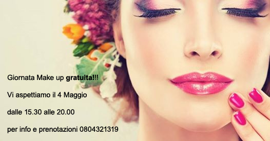 make up 4 maggio 2017