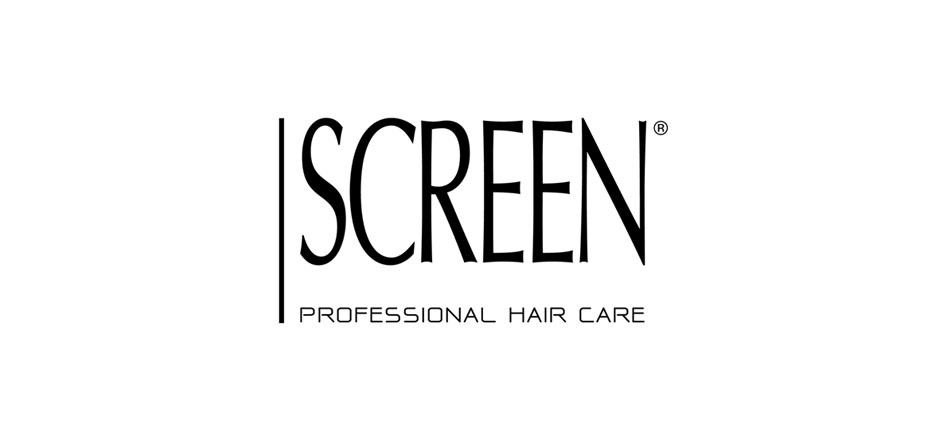 screen logo bianco